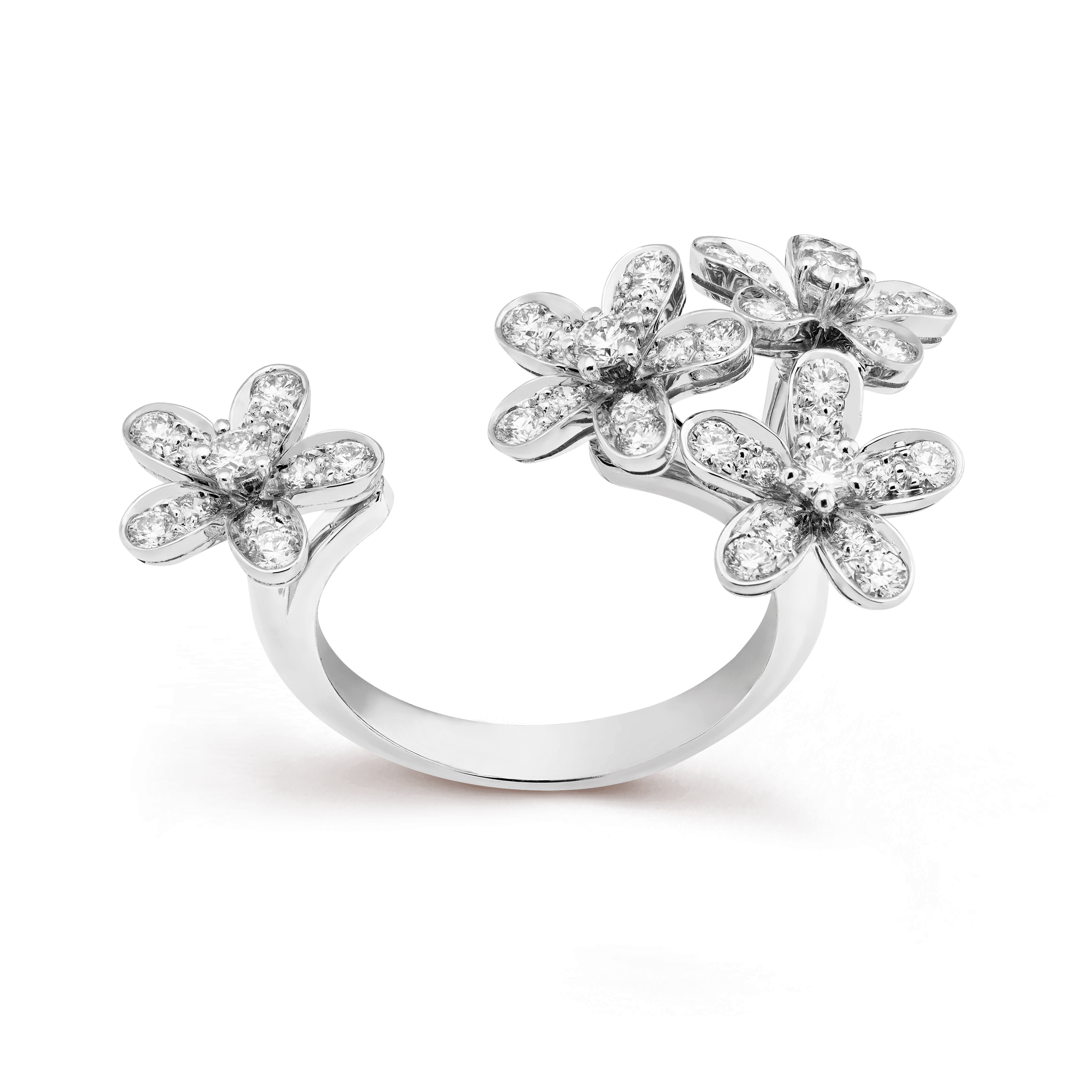 Anel Between the Finger Socrate, - Front View - VCARB14500 - Van Cleef & Arpels