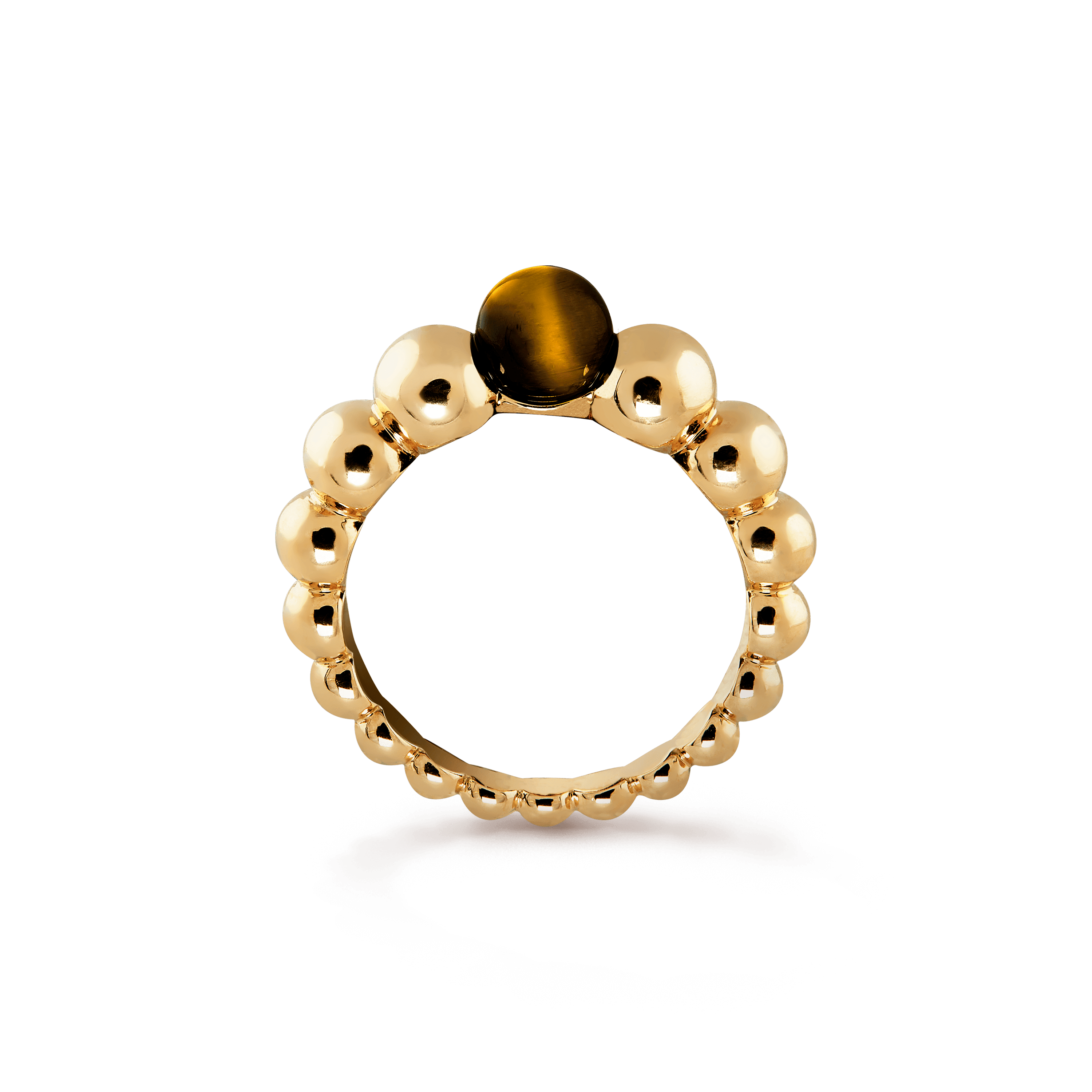 Perlée couleurs variation ring, - Profile View - VCARO5M300 - Van Cleef & Arpels