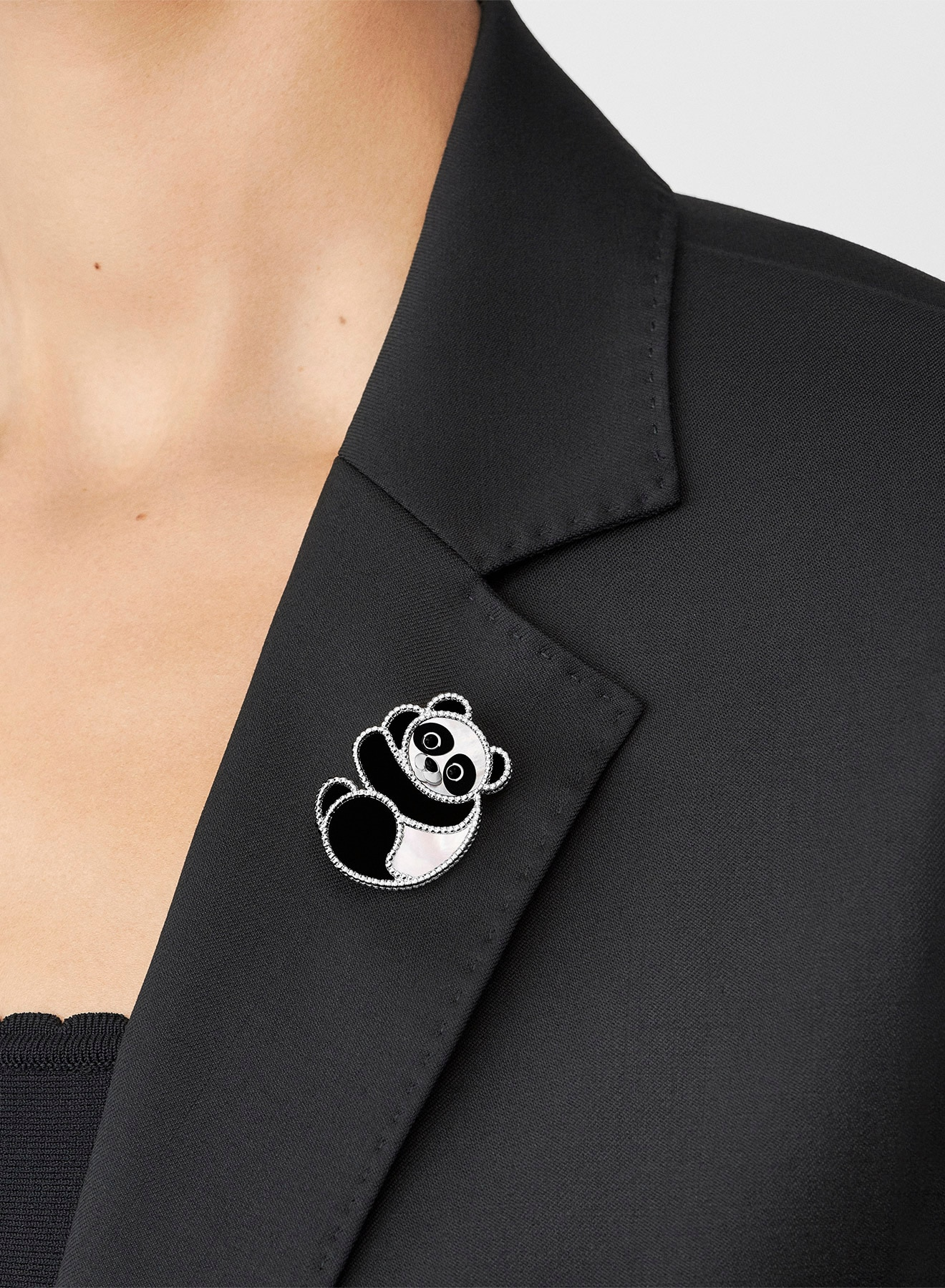 Lucky Animals collection, clip, panda, Van Cleef & Arpels