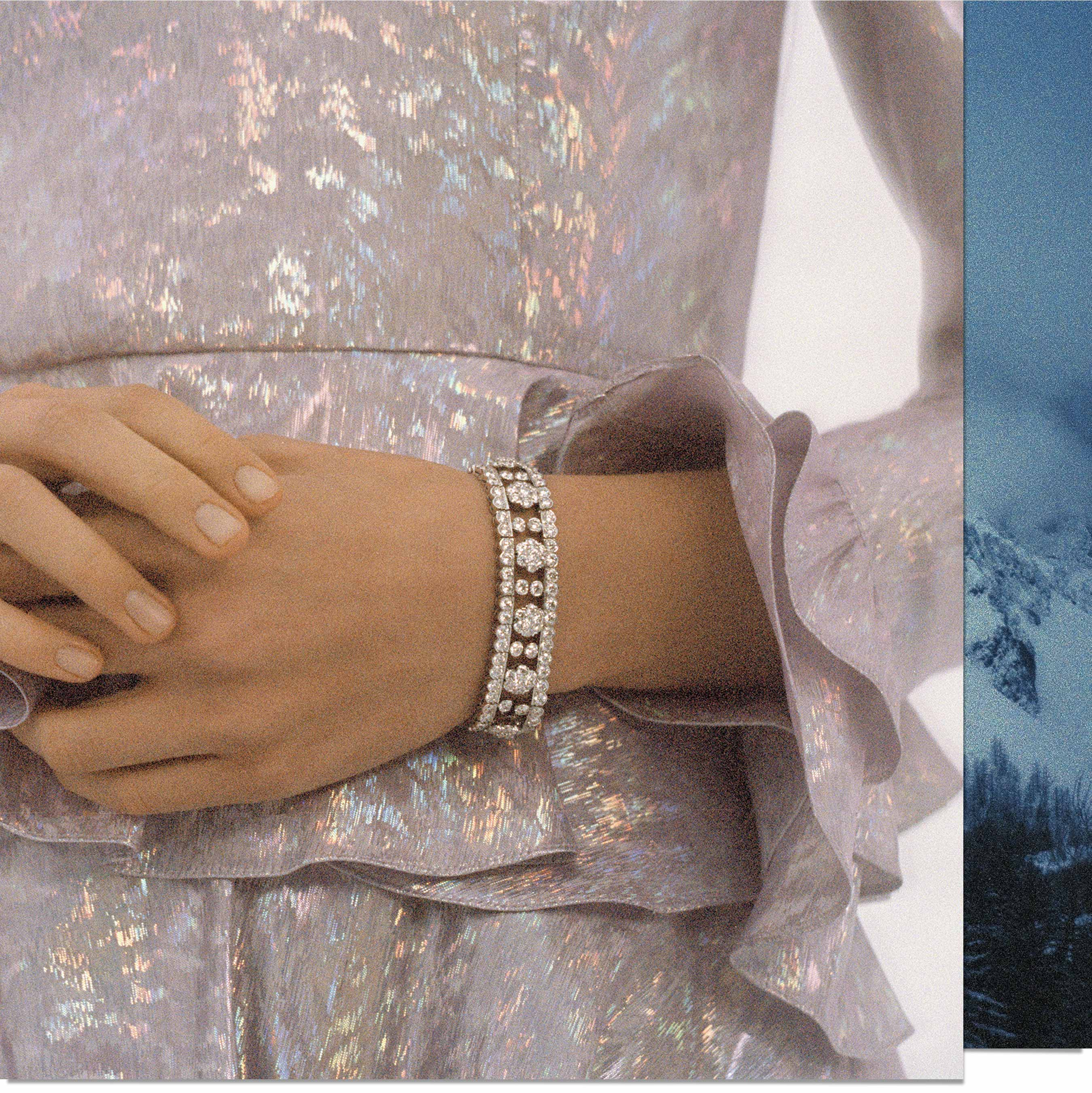 Snowflake collection seen by photographer Olivia Bee, Van Cleef & Arpels