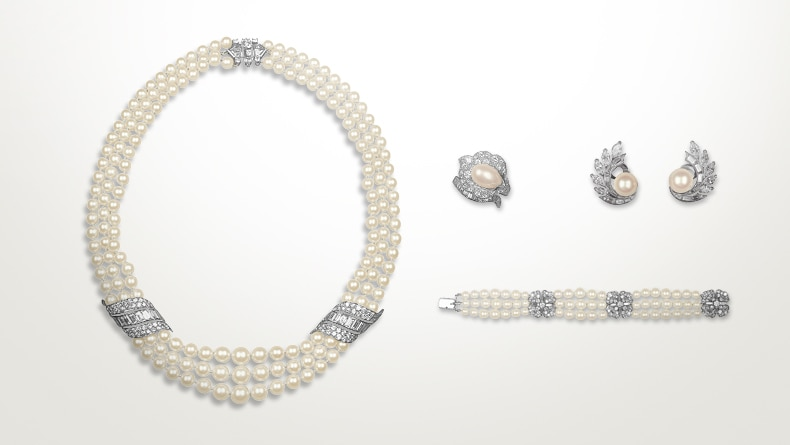 H.S.H. Princess Grace of Monaco's wedding set, 1956, Private collection of H.S.H Princess Grace of Monaco, Principality of Monaco Image 2 - Van Cleef & Arpels