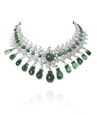 Baroda necklace fomerly owned by the Maharani of Baroda, 1950, Private Collection Image 1 - Van Cleef & Arpels