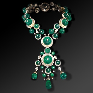 Special order of the Indian necklace by H.H. Prince Aga Khan