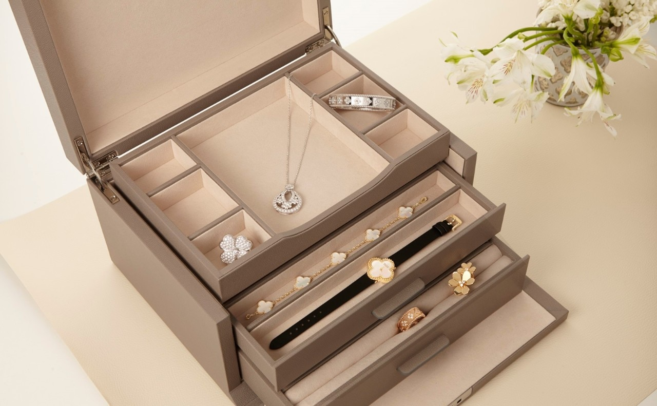 Storage advice for your jewelry creations, Van Cleef & Arpels